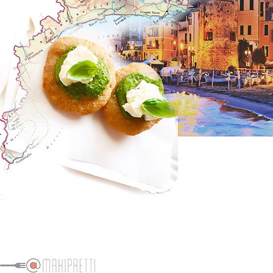 CARRUGGIO-FOOD, PIZZETTE FRITTE ALLA LIGURE