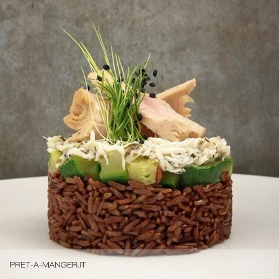 riso integrale mare zucchini