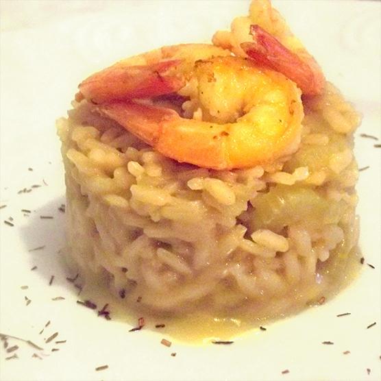 risotto-gamberi-sedano